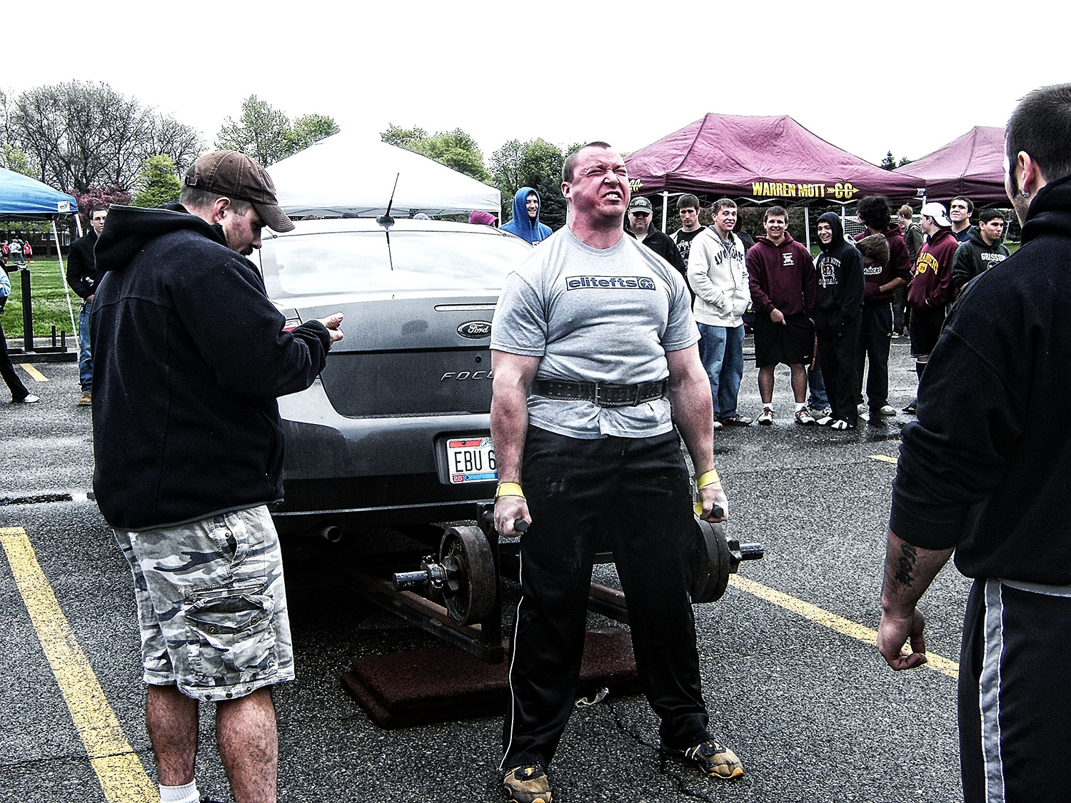 Ben Tipton, Head Coach, Deadlifting a Car at Strongman 2010